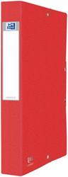 Elastobox Oxford Eurofolio A4 40mm rood