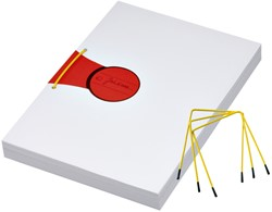 Archiefbinder JalemaClip Pli-fix geel