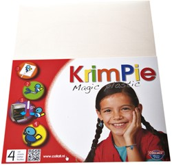 Krimpievel Collall Magic Plastic frosted set à 4 vel
