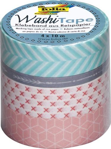 Washi tape Folia geometrisch