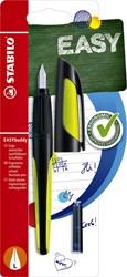 Vulpen STABILO Easybuddy linkshandig zwart/lime blister