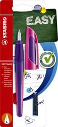 Vulpen STABILO Easybuddy linkshandig paars/magenta blister