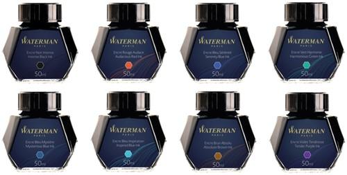 Vulpeninkt Waterman 50ml standaard blauw-zwart-1