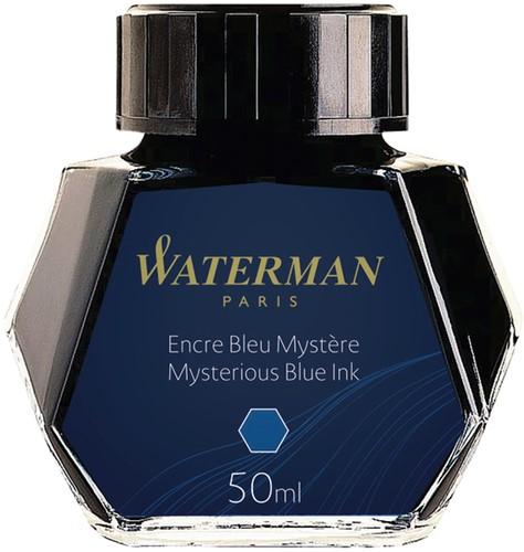 Vulpeninkt Waterman 50ml standaard blauw-zwart