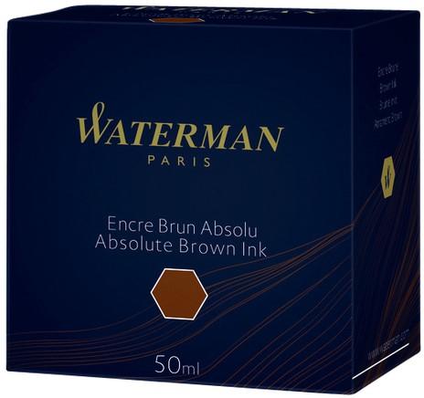 Vulpeninkt Waterman 50ml absoluut bruin-3