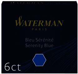 Inktpatroon Waterman internationaal Florida blauw