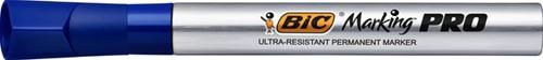 Viltstift Bic Pro 1mm permanent blauw-2