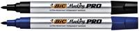 Viltstift Bic Pro 1mm permanent blauw-1