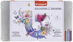 Kleurpotloden Bruynzeel 70-delig assorti