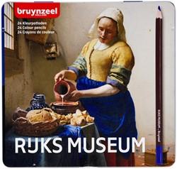 Kleurpotloden Bruynzeel Melkmeisje blik à 24 stuks assorti