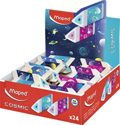 Gum Maped Cosmic 3-kantig display à 24 stuks assorti
