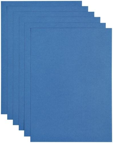 Kopieerpapier Papicolor A4 100gr 12vel donkerblauw