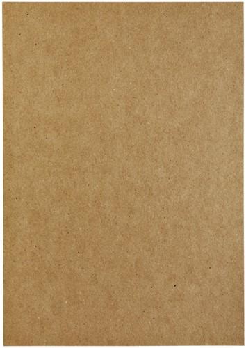 Kopieerpapier Papicolor A4 100gr 12vel kraft bruin-3