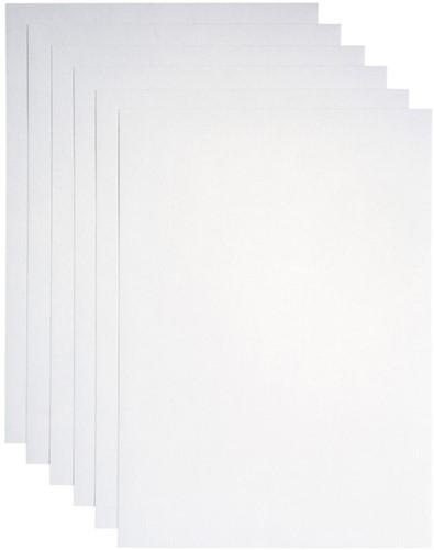 Kopieerpapier Papicolor A4 120gr 6vel metallic parelwit