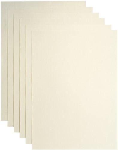 Kopieerpapier Papicolor A4 200gr 3vel metallic ivoor