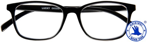 Leesbril I Need You Lucky +1.00 dpt zwart