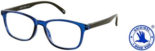Leesbril I Need You Lucky +2.00 blauw-zwart-2