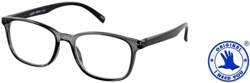 Leesbril I Need You Lucky +1.50 grijs-zwart-2