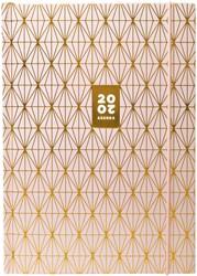 Ag20 A5 dessin Utopia goudfolie