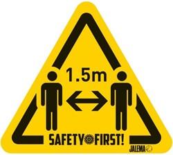 Waarschuwingsst. 1,5M afstand *1*