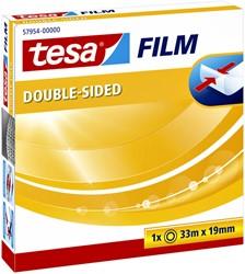 Dubbelzijdige plakband Tesa film 19mmx33m