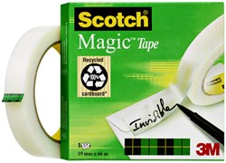Onzichtbaar plakband Scotch Magic 810 19mmx66m