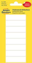 Etiket Avery Zweckform 3086 50x14mm wit 64stuks