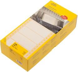 Etiket Avery Zweckform 5106 101.6x35.7mm 1-baans wit 4000st.