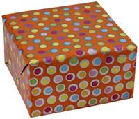 Apparaatrol brightsummer bolletjes oranje 200mx30cm-3
