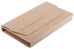Wikkelverpakking IEZZY A4 +zelfkl strip bruin
