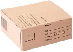 Postpakketbox IEZZY 1 146x131x56mm bruin