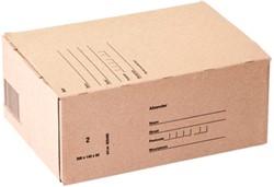 Postpakketbox IEZZY 2 200x140x80mm bruin