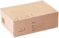 Postpakketbox IEZZY 3 240x170x80mm bruin