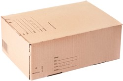 Postpakketbox IEZZY 4 305x215x110mm bruin