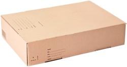 Postpakketbox IEZZY 5 430x300x90mm bruin
