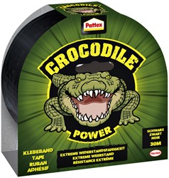 Plakband Pattex Crocodile duct tape 50mmx30m zwart