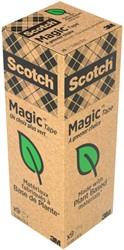 Plakband Scotch Magic 900 19mmx33m onzichtbaar mat