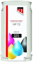 Inkcartridge Quantore HP 72 C9403A mat zwart
