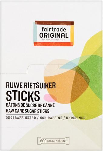 Rietsuikersticks Fairtrade Original 4gram 600 stuks-1