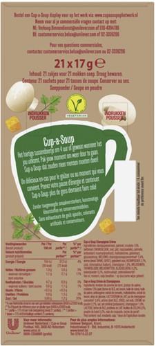 Cup-a-soup champignon cremesoep 21 zakjes-3