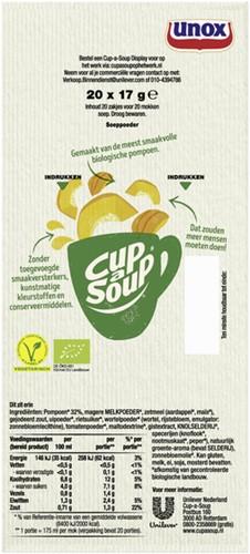Cup-a-soup pompoensoep BIO 20 zakjes-3