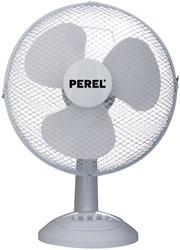 Tafelventilator Perel Ø40cm wit