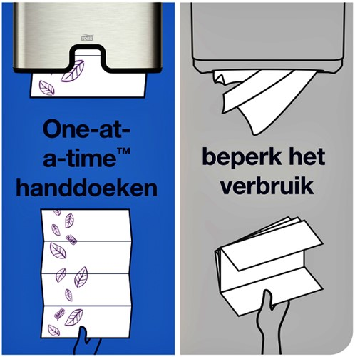 Handdoek Tork H2 100297 Premium 2laags 21x34cm 21x100st-4