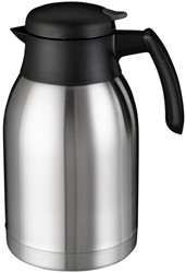 Thermoskan Bravilor dubbelwandig 2 liter RVS-zwart