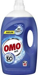 Wasmiddel Omo wit vloeibaar 4L 80 scoops
