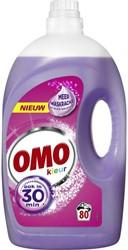 Wasmiddel Omo color vloeibaar 4L 80 scoops