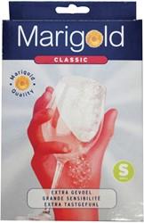 Huishoudhandschoen Marigold Classic rood small