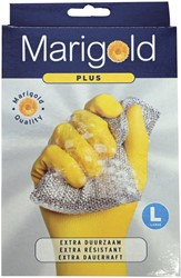 Huishoudhandschoen Marigold Plus geel large