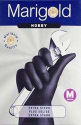 Huishoudhandschoen Marigold Hobby zwart medium