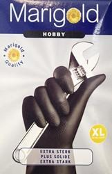Huishoudhandschoen Marigold Hobby zwart X-large